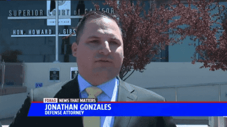 Criminal defense attorney in Sacramento Jonathan Gonzales on FOX40 News